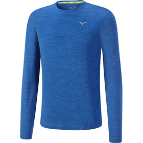 Mizuno Impulse Core - Camiseta manga larga running Hombre - azul